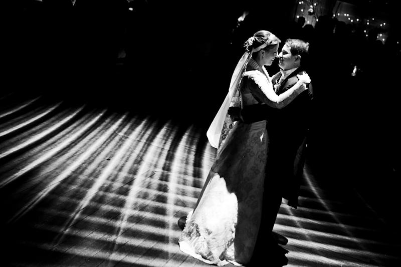 el primer baile de los novios
